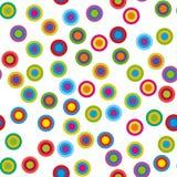 Ζωηρόχρωμοι psychedelic κύκλοι απεικόνιση αποθεμάτων