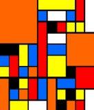 Ζωηρόχρωμος αφηρημένος γεωμετρικός - φωτεινός διανυσματική απεικόνιση
