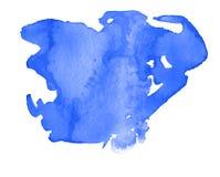 Ζωηρόχρωμος αφηρημένος λεκές σύστασης watercolor με τους παφλασμούς και spatters στοκ εικόνες