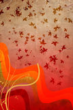ζωηρόχρωμος βγάζει φύλλα Στοκ Εικόνες