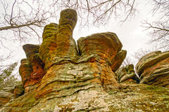 Ζωηρόχρωμος βράχος αμονιών στο Wilds Στοκ Εικόνα
