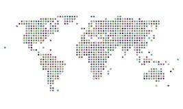 ζωηρόχρωμος διαστιγμένο&sig απεικόνιση αποθεμάτων