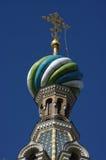 Ζωηρόχρωμος θόλος εκκλησιών Στοκ εικόνα με δικαίωμα ελεύθερης χρήσης