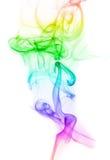ζωηρόχρωμος καπνός ουράνι& Στοκ Εικόνες