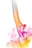 Ζωηρόχρωμος καπνός Στοκ φωτογραφία με δικαίωμα ελεύθερης χρήσης