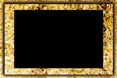 Ζωηρόχρωμος κρυσταλλώστε το αφηρημένο κίτρινο και κενό υποβάθρου κρέμας Στοκ φωτογραφία με δικαίωμα ελεύθερης χρήσης