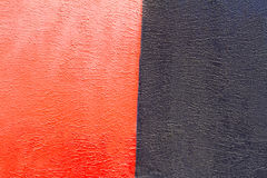 Ζωηρόχρωμος (κόκκινος και μαύρος) τουβλότοιχος Στοκ εικόνα με δικαίωμα ελεύθερης χρήσης