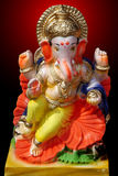 Ζωηρόχρωμος Λόρδος Ganesha Model Στοκ Εικόνες