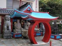Ζωηρόχρωμος ναός στο Κιότο στοκ φωτογραφία με δικαίωμα ελεύθερης χρήσης