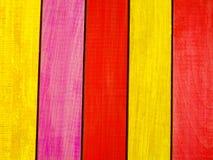 ζωηρόχρωμος ξύλινος ανασκόπησης Στοκ φωτογραφίες με δικαίωμα ελεύθερης χρήσης