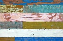 ζωηρόχρωμος ξύλινος ανασ& Στοκ Εικόνες