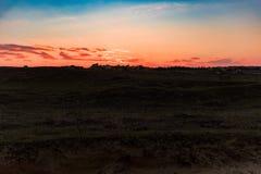 Ζωηρόχρωμος ουρανός βραδιού Στοκ εικόνα με δικαίωμα ελεύθερης χρήσης