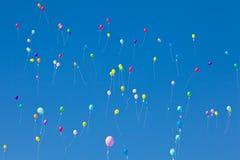 ζωηρόχρωμος ουρανός μπαλ Στοκ φωτογραφία με δικαίωμα ελεύθερης χρήσης