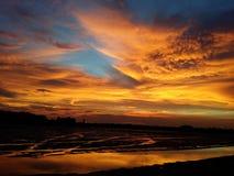 ζωηρόχρωμος ουρανός Στοκ φωτογραφίες με δικαίωμα ελεύθερης χρήσης