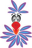 ζωηρόχρωμος παπαγάλος Στοκ φωτογραφίες με δικαίωμα ελεύθερης χρήσης