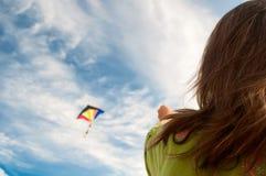 ζωηρόχρωμος πετώντας ικτίν Στοκ Εικόνες