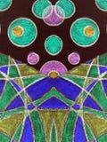 ζωηρόχρωμος που χρωματίζ&eps Στοκ Εικόνες
