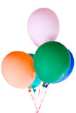 Ζωηρόχρωμος πολύχρωμος διακοσμήσεων μπαλονιών Κόμματος Στοκ Εικόνες