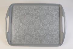 Ζωηρόχρωμος πλαστικός δίσκος στοκ φωτογραφίες