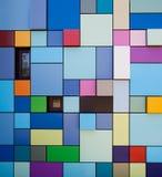 ζωηρόχρωμος τοίχος σχεδί Στοκ εικόνες με δικαίωμα ελεύθερης χρήσης