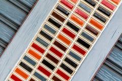 Ζωηρόχρωμος του αφηρημένου υποβάθρου πυλών Στοκ Εικόνες