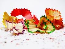 Ζωηρόχρωμος του μολυβιού αριθ. χρώματος 2 Στοκ εικόνες με δικαίωμα ελεύθερης χρήσης