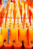 ζωηρόχρωμος χυμός νωπών καρπών φυσικός Στοκ εικόνες με δικαίωμα ελεύθερης χρήσης