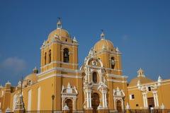 Ζωηρόχρωμος Trujillo καθεδρικός ναός Στοκ φωτογραφίες με δικαίωμα ελεύθερης χρήσης