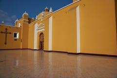 Ζωηρόχρωμος Trujillo καθεδρικός ναός Στοκ Εικόνες