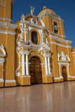 Ζωηρόχρωμος Trujillo καθεδρικός ναός Στοκ εικόνα με δικαίωμα ελεύθερης χρήσης