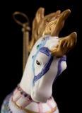 ζωηρόχρωμο άλογο ιπποδρομίων Στοκ Φωτογραφία