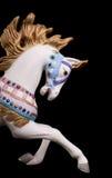 ζωηρόχρωμο άλογο ιπποδρομίων Στοκ Εικόνες