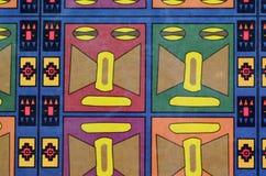 Ζωηρόχρωμο άνευ ραφής των Μάγια σχέδιο Στοκ εικόνα με δικαίωμα ελεύθερης χρήσης