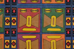Ζωηρόχρωμο άνευ ραφής των Μάγια σχέδιο Στοκ Εικόνες