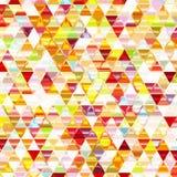 Ζωηρόχρωμο λαμπρό τριγωνικό υπόβαθρο. Στοκ φωτογραφία με δικαίωμα ελεύθερης χρήσης