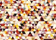 Ζωηρόχρωμο λαμπρό τριγωνικό υπόβαθρο. Στοκ εικόνες με δικαίωμα ελεύθερης χρήσης