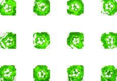 Ζωηρόχρωμο αφηρημένο γεωμετρικό υπόβαθρο με τα γραμματόσημα Στοκ Φωτογραφίες
