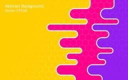 Ζωηρόχρωμο αφηρημένο διανυσματικό υπόβαθρο, σχέδιο προτύπων Στοκ εικόνες με δικαίωμα ελεύθερης χρήσης