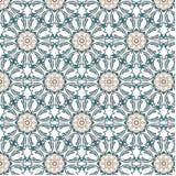 Ζωηρόχρωμο αφηρημένο διανυσματικό σχέδιο λουλουδιών Στοκ Εικόνα