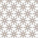 Ζωηρόχρωμο αφηρημένο διανυσματικό σχέδιο λουλουδιών Στοκ Φωτογραφία