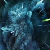 Ζωηρόχρωμο αφηρημένο κοσμικό υπόβαθρο γαλαξιών Λαμπρός κόσμος φαντασίας κόσμος βαθιά Εξερεύνηση απείρου τρισδιάστατη απεικόνιση διανυσματική απεικόνιση