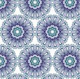 Ζωηρόχρωμο αφηρημένο σχέδιο της floral διακόσμησης Στοκ Φωτογραφία