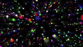 Ζωηρόχρωμο αφηρημένο υπόβαθρο βρόχων μορίων ελεύθερη απεικόνιση δικαιώματος