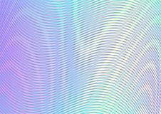 Ζωηρόχρωμο αφηρημένο υπόβαθρο κλίσης με moire την επίδραση απεικόνιση αποθεμάτων