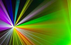 Ζωηρόχρωμο αφηρημένο υπόβαθρο Laserlight με το διάστημα για το κείμενο ή Στοκ εικόνες με δικαίωμα ελεύθερης χρήσης