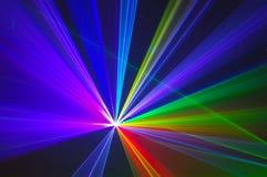 Ζωηρόχρωμο αφηρημένο υπόβαθρο Laserlight με το διάστημα για το κείμενο ή Στοκ Εικόνα