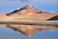 Ζωηρόχρωμο βουνό στοκ εικόνες