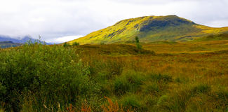 ζωηρόχρωμο βουνό scape Στοκ εικόνες με δικαίωμα ελεύθερης χρήσης