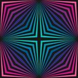 Ζωηρόχρωμο γεωμετρικό άνευ ραφής σχέδιο με τα διαγώνια λωρίδες pattern retro Διανυσματική απεικόνιση