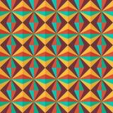 ζωηρόχρωμο γεωμετρικό πρότυπο άνευ ραφής Στοκ εικόνες με δικαίωμα ελεύθερης χρήσης